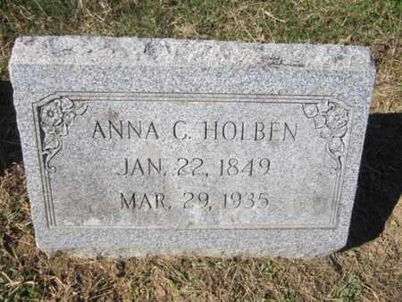 HOLBEN, ANNA C. - Lehigh County, Pennsylvania | ANNA C. HOLBEN - Pennsylvania Gravestone Photos