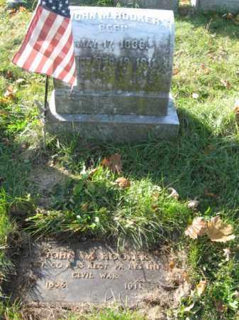 HOOKER, PVT. JOHN M. - Lehigh County, Pennsylvania | PVT. JOHN M. HOOKER - Pennsylvania Gravestone Photos