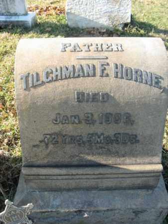 HORNE, CORP. TILGHMAN - Lehigh County, Pennsylvania | CORP. TILGHMAN HORNE - Pennsylvania Gravestone Photos