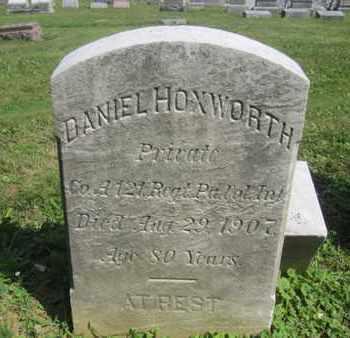 HOXWORTH (CW), DANIEL - Lehigh County, Pennsylvania   DANIEL HOXWORTH (CW) - Pennsylvania Gravestone Photos