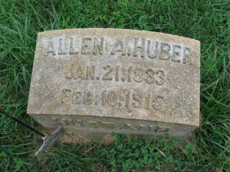 HUBER, ALLEN A. - Lehigh County, Pennsylvania | ALLEN A. HUBER - Pennsylvania Gravestone Photos