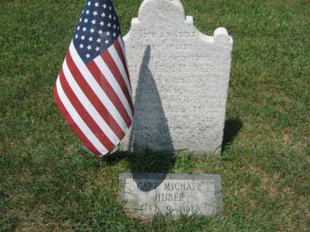 HUBER, CAPR.MICHAEL - Lehigh County, Pennsylvania | CAPR.MICHAEL HUBER - Pennsylvania Gravestone Photos