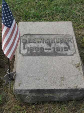 HUBER, C.LEWIS - Lehigh County, Pennsylvania | C.LEWIS HUBER - Pennsylvania Gravestone Photos