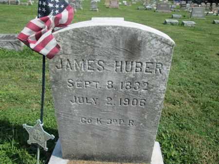 HUBER (CW), JAMES - Lehigh County, Pennsylvania   JAMES HUBER (CW) - Pennsylvania Gravestone Photos