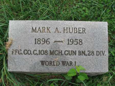 HUBER, MARK - Lehigh County, Pennsylvania   MARK HUBER - Pennsylvania Gravestone Photos