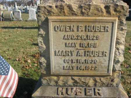 HUBEER, MARY A. - Lehigh County, Pennsylvania | MARY A. HUBEER - Pennsylvania Gravestone Photos
