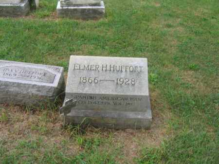HUFFORT, ELMER H. - Lehigh County, Pennsylvania | ELMER H. HUFFORT - Pennsylvania Gravestone Photos