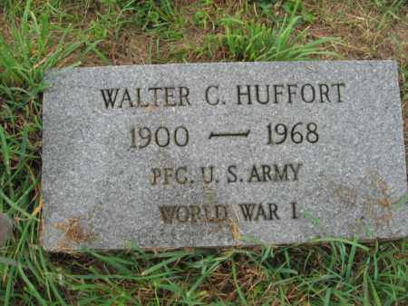 HUFFORT, WALTER C. - Lehigh County, Pennsylvania | WALTER C. HUFFORT - Pennsylvania Gravestone Photos