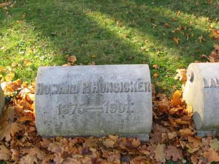 HUNSICKER, HOWARD P. - Lehigh County, Pennsylvania | HOWARD P. HUNSICKER - Pennsylvania Gravestone Photos