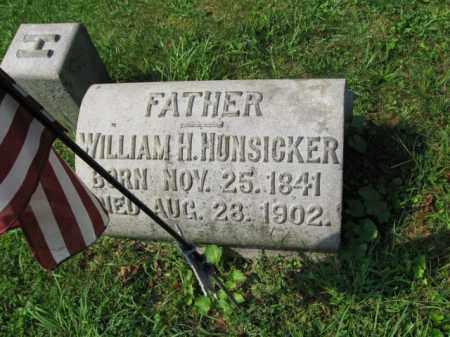 HUNSICKER, WILLIAM H. - Lehigh County, Pennsylvania | WILLIAM H. HUNSICKER - Pennsylvania Gravestone Photos