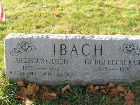 IBACH, ESTHER HETTIE - Lehigh County, Pennsylvania   ESTHER HETTIE IBACH - Pennsylvania Gravestone Photos