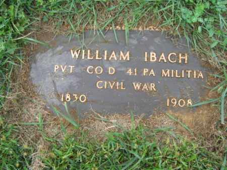 IBACH, WILLIAM - Lehigh County, Pennsylvania | WILLIAM IBACH - Pennsylvania Gravestone Photos