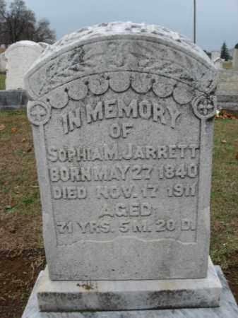 JARRETT, SOPHIA M. - Lehigh County, Pennsylvania | SOPHIA M. JARRETT - Pennsylvania Gravestone Photos