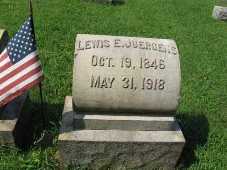 JUERGENS, LEWIS E. - Lehigh County, Pennsylvania | LEWIS E. JUERGENS - Pennsylvania Gravestone Photos