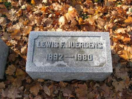 JUERGENS, LEWIS F. - Lehigh County, Pennsylvania | LEWIS F. JUERGENS - Pennsylvania Gravestone Photos