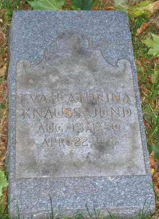 JUND, EVA CATHRINA - Lehigh County, Pennsylvania | EVA CATHRINA JUND - Pennsylvania Gravestone Photos