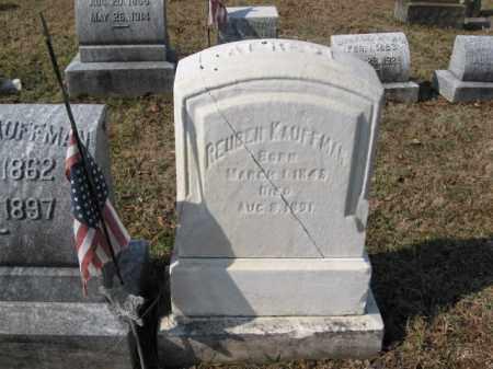 KAUFFMAN   (CW), REUBEN - Lehigh County, Pennsylvania   REUBEN KAUFFMAN   (CW) - Pennsylvania Gravestone Photos