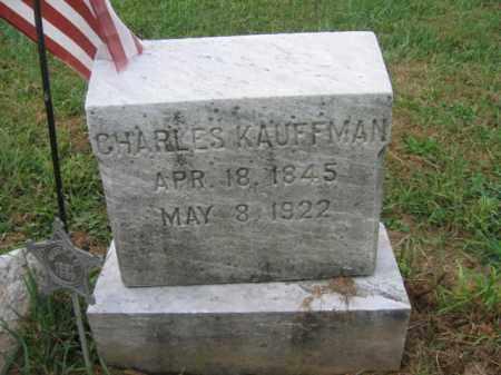 KAUFFMAN, CHARLES - Lehigh County, Pennsylvania   CHARLES KAUFFMAN - Pennsylvania Gravestone Photos