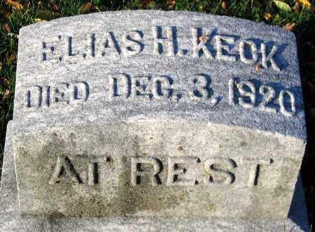 KECK, ELIAS H. - Lehigh County, Pennsylvania | ELIAS H. KECK - Pennsylvania Gravestone Photos