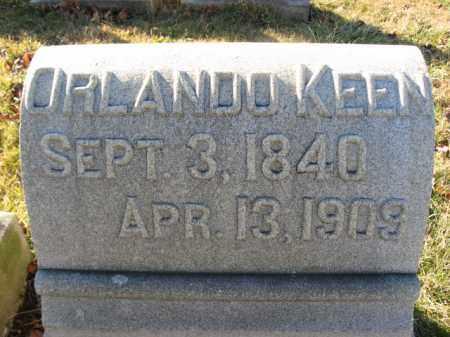 KEEN, LT. ORLANDO - Lehigh County, Pennsylvania   LT. ORLANDO KEEN - Pennsylvania Gravestone Photos
