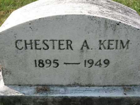 KEIM, CHESTER A. - Lehigh County, Pennsylvania | CHESTER A. KEIM - Pennsylvania Gravestone Photos
