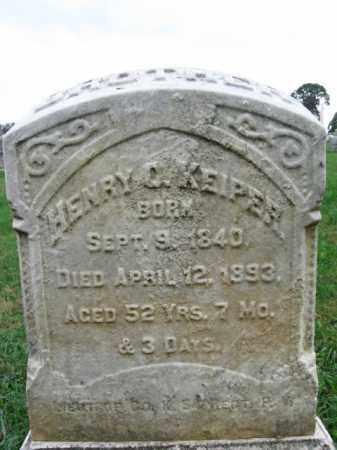 KEIPER, HENRY C. - Lehigh County, Pennsylvania | HENRY C. KEIPER - Pennsylvania Gravestone Photos