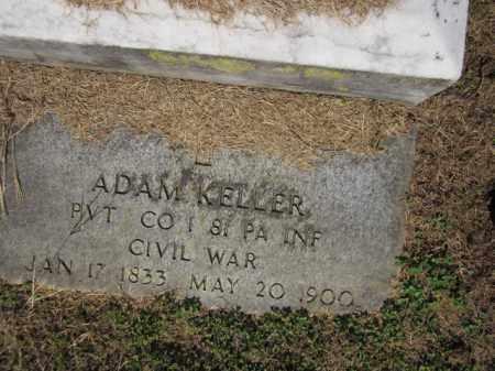 KELLER (CW), ADAM - Lehigh County, Pennsylvania | ADAM KELLER (CW) - Pennsylvania Gravestone Photos