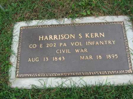 KERN, HARRISON S. - Lehigh County, Pennsylvania | HARRISON S. KERN - Pennsylvania Gravestone Photos