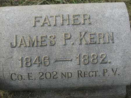 KERN, JAMES P. - Lehigh County, Pennsylvania   JAMES P. KERN - Pennsylvania Gravestone Photos
