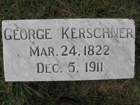 KERSCHNER, GEORGE - Lehigh County, Pennsylvania   GEORGE KERSCHNER - Pennsylvania Gravestone Photos