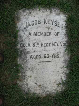 KEYSER (CW), JACOB - Lehigh County, Pennsylvania | JACOB KEYSER (CW) - Pennsylvania Gravestone Photos