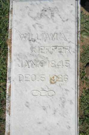 KIEFFER, WILLIAM - Lehigh County, Pennsylvania | WILLIAM KIEFFER - Pennsylvania Gravestone Photos