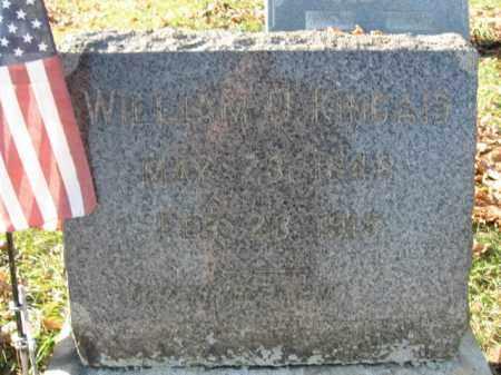 KINCAID, PVT. WILLIAM D. - Lehigh County, Pennsylvania   PVT. WILLIAM D. KINCAID - Pennsylvania Gravestone Photos
