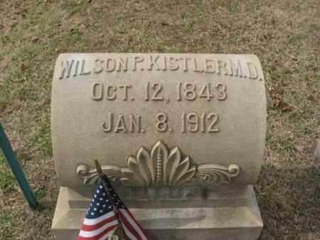 KISTLER  (CW), PVT.WILSON P. - Lehigh County, Pennsylvania | PVT.WILSON P. KISTLER  (CW) - Pennsylvania Gravestone Photos