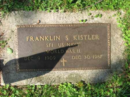 KISTLER, FRANKLIN S. - Lehigh County, Pennsylvania   FRANKLIN S. KISTLER - Pennsylvania Gravestone Photos