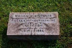 KLECKNER, CAPT. WILLIAM H. - Lehigh County, Pennsylvania | CAPT. WILLIAM H. KLECKNER - Pennsylvania Gravestone Photos