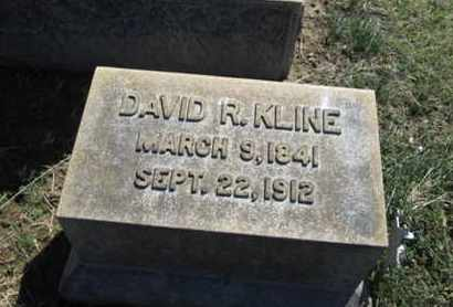 KLINE (CW), DAVID R. - Lehigh County, Pennsylvania | DAVID R. KLINE (CW) - Pennsylvania Gravestone Photos