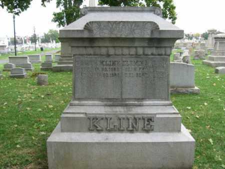 KLINE, ELEMINA - Lehigh County, Pennsylvania   ELEMINA KLINE - Pennsylvania Gravestone Photos