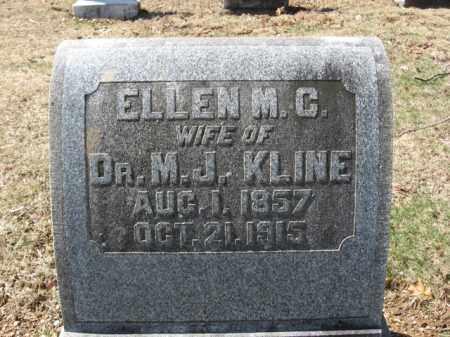 KLINE, ELLEN M.C. - Lehigh County, Pennsylvania   ELLEN M.C. KLINE - Pennsylvania Gravestone Photos
