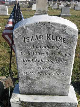 KLINE (CW), ISAAC - Lehigh County, Pennsylvania   ISAAC KLINE (CW) - Pennsylvania Gravestone Photos