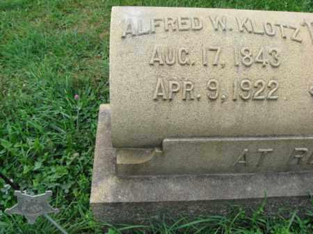 KLOTZ, ALFRED - Lehigh County, Pennsylvania | ALFRED KLOTZ - Pennsylvania Gravestone Photos