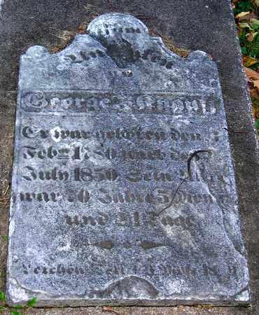 KNAUSS, GEORGE F. - Lehigh County, Pennsylvania   GEORGE F. KNAUSS - Pennsylvania Gravestone Photos