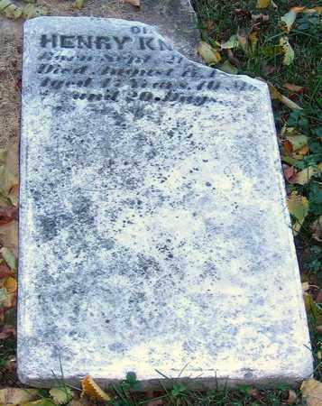 KNAUSS, HENRY - Lehigh County, Pennsylvania | HENRY KNAUSS - Pennsylvania Gravestone Photos