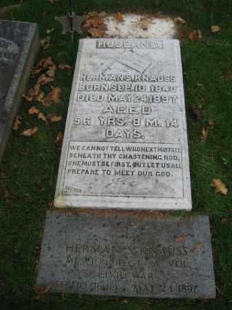 KNAUSS, HERMAN S. - Lehigh County, Pennsylvania | HERMAN S. KNAUSS - Pennsylvania Gravestone Photos