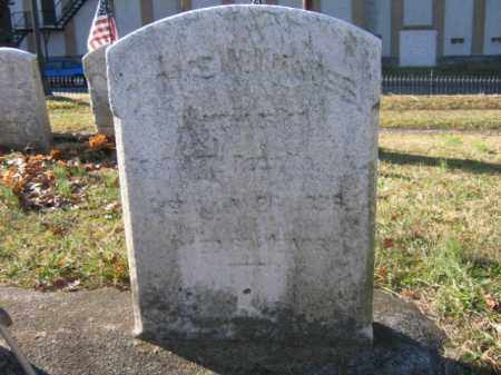 KNAUSS, PVT. GEORGE W. - Lehigh County, Pennsylvania | PVT. GEORGE W. KNAUSS - Pennsylvania Gravestone Photos