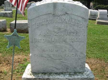 KNAUSS, THOMAS M. - Lehigh County, Pennsylvania | THOMAS M. KNAUSS - Pennsylvania Gravestone Photos