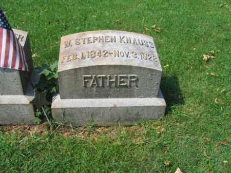 KNAUSS, W.FRANK - Lehigh County, Pennsylvania | W.FRANK KNAUSS - Pennsylvania Gravestone Photos