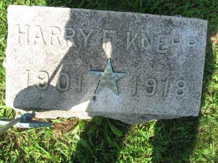 KNERR, HARRY F. - Lehigh County, Pennsylvania | HARRY F. KNERR - Pennsylvania Gravestone Photos