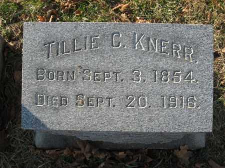 KNERR, TILLIE   C. - Lehigh County, Pennsylvania | TILLIE   C. KNERR - Pennsylvania Gravestone Photos