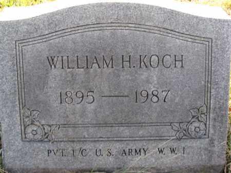 KOCH, WILLIAM H. - Lehigh County, Pennsylvania   WILLIAM H. KOCH - Pennsylvania Gravestone Photos